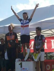 Alex Championne de France