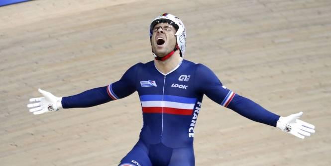 Championnats du Monde Piste : François Pervis Champion du Monde du KM