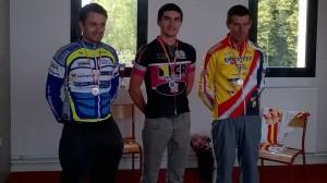 Marc Thomas Champion de Lorraine Piste épreuve  scartch