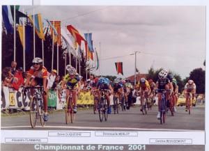 Championnat France Cadets victoire d'Alex Flammand VC Hettange