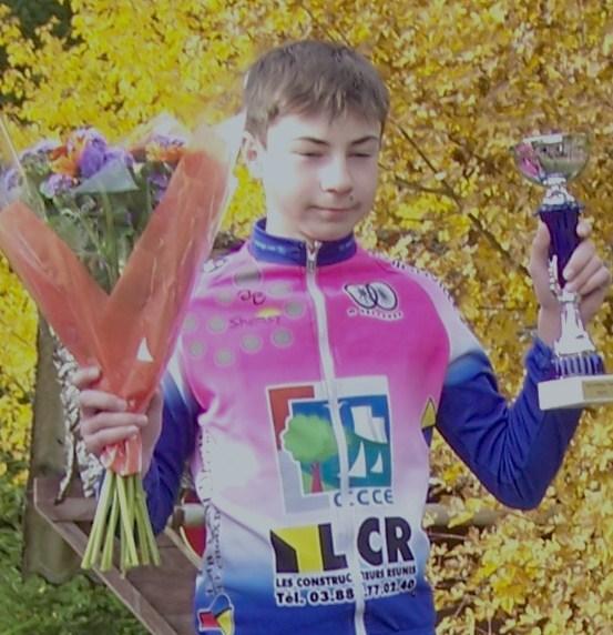 Cyclo cross – A Cessange (Luxembourg) nouvelle victoire pour Tom Paquet (VC Hettange Grande)