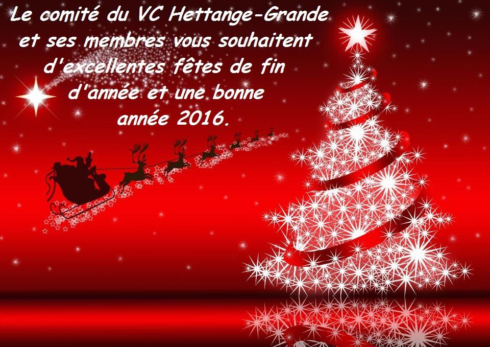 Bonne et Heureuse Année 2016 à tous nos amis cyclistes