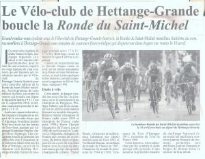 Ronde St Michel Mosellan 7 001