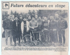 Stage Educateurs 1982 001