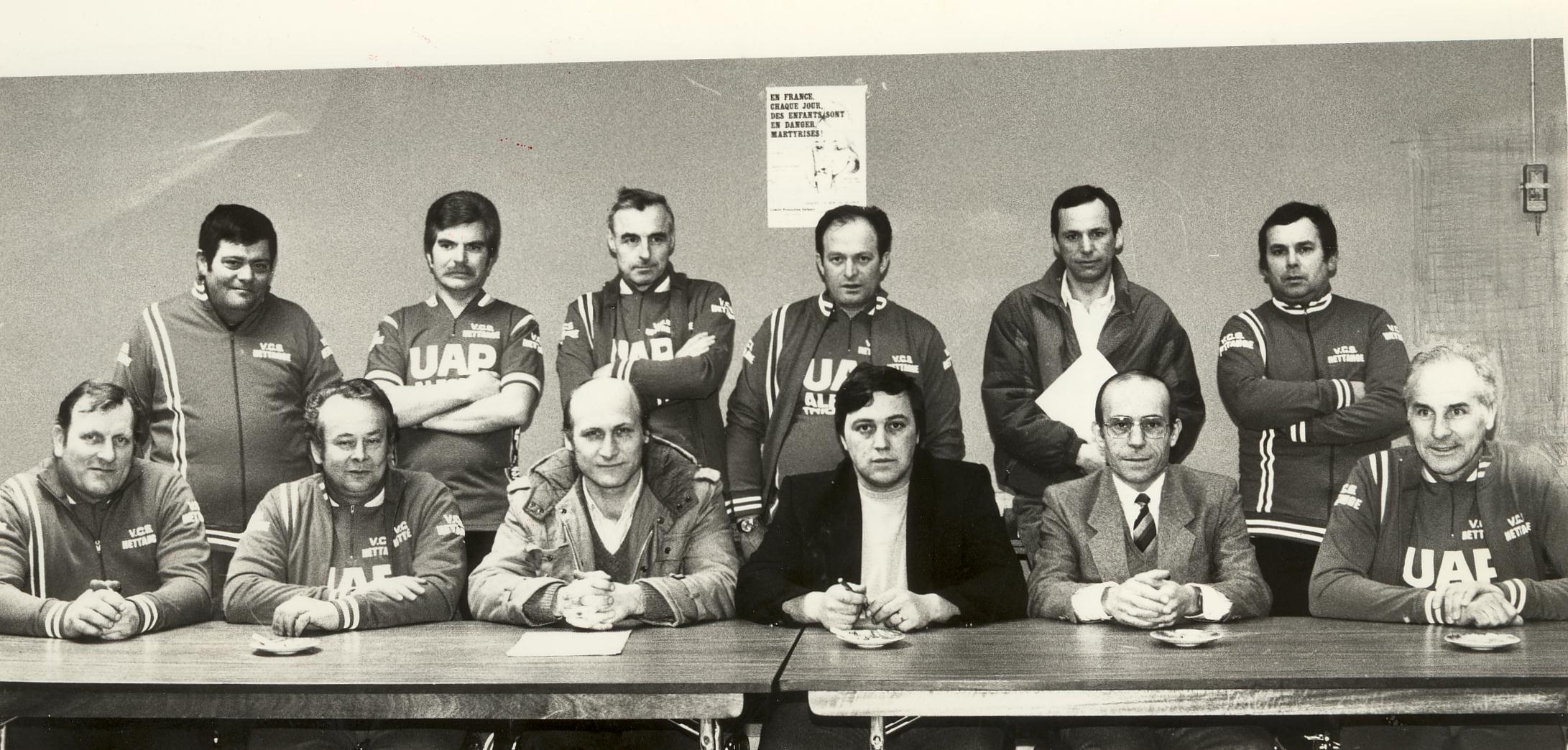 1985 – Changement de Présidence au VC Hettange Grande