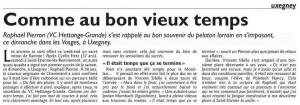 ART Journal Victoire Pierron Uxegney 2017