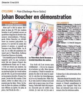 Johan Boucher Piste Commercy 10 mai 2018