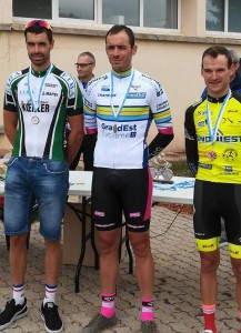 Marc Féraud Champion Grand Est du CLM
