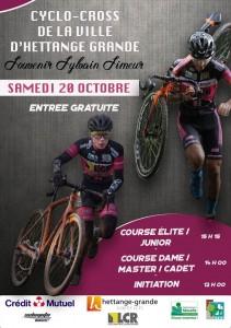 Affiche Cyclo Cross VC Hettange 2019