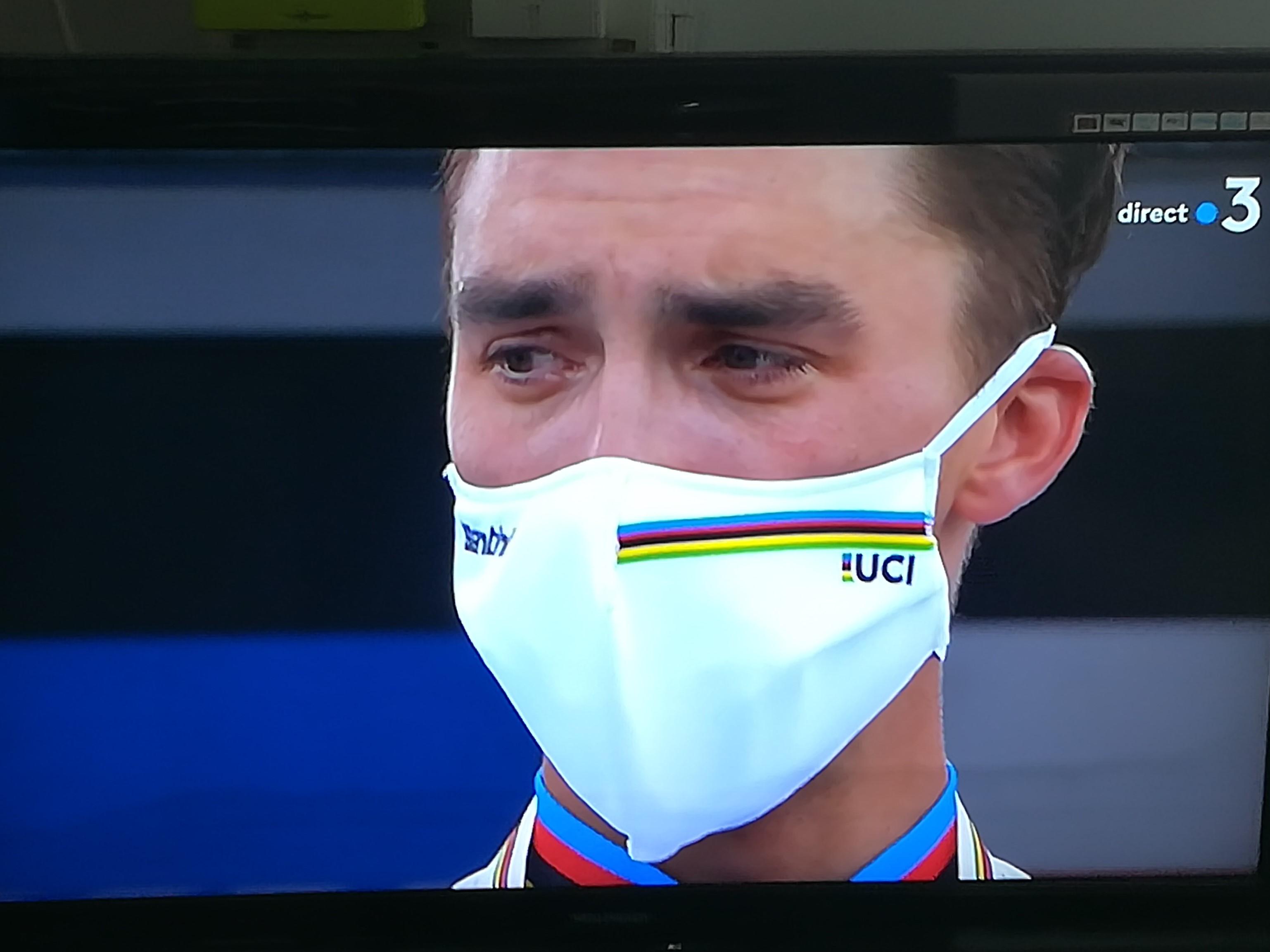 Julian Alaphillipe  Champion du Monde Route 2020