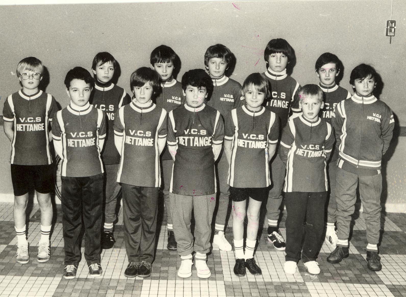 Le Vélo club de Hettange Grande est dans sa 40ème année d'existence 1979 à 2019